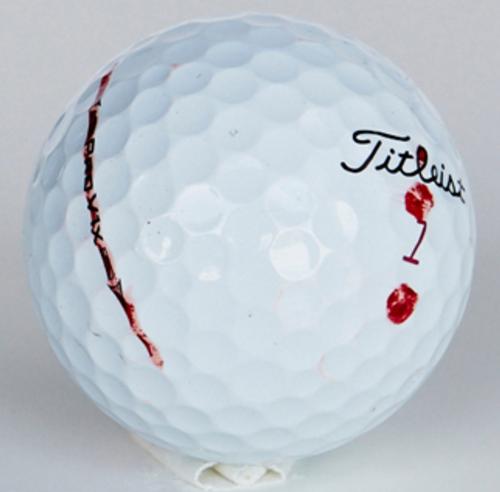 Hur proffsen märker sina bollar - Begagnade golfbollar